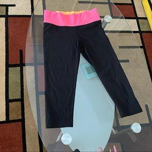 Cropped PINK reversible leggings